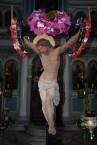 Christ on the Cross - Ilariotissa Church - Holy Week 2009