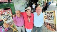 Magnificent stories: Paul Calokerinos, author Sandy Thorne and Toby Grant