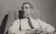 Bretos Margetis in 1961 relaxing in his new home at Rose Bay