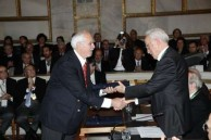 Emmanuel Kalligeros receives prestigious awards from the Academy of Athens