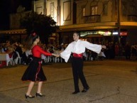 Greek dancing was one of the features at the Roxy Museum Ball