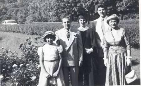 Cavacos graduation in Baltimore-1950's