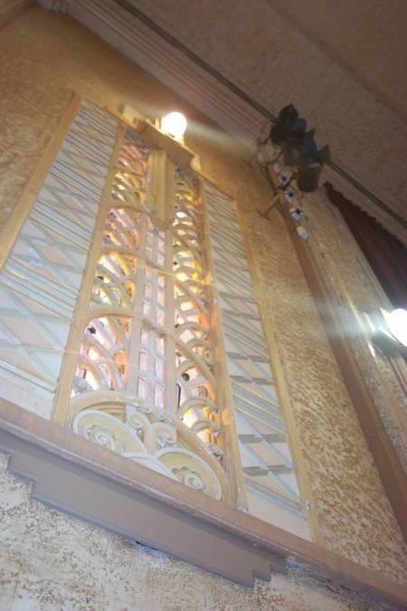 Roxy Theatre, Bingara, NSW, Australia - one of the Art Deco Wall Panels