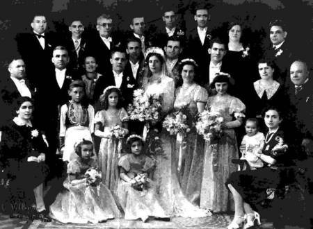 Wedding of Andrew Tambakis and Irene Poteri at Toowoomba in 1940