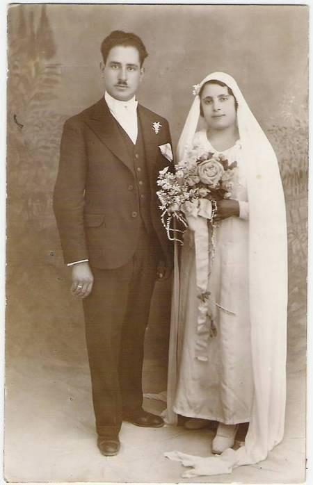 George and Koula Travasaros 1934