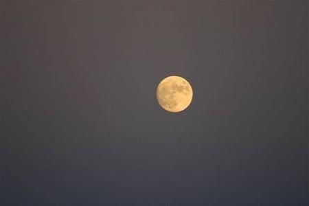 a summers night full moon.