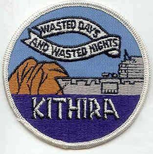 USS Kithira ship's patch