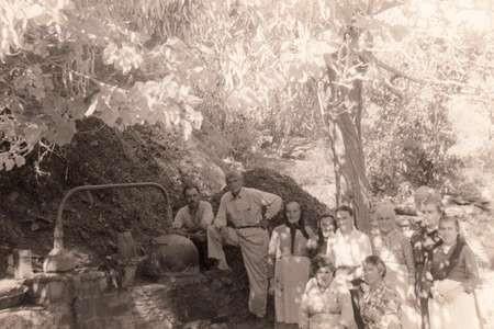 Making tsipouro at Portakalia, 1960's