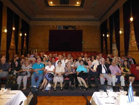 Visit of 47 members of AHEPA, Sydney, to the Roxy Complex, Bingara
