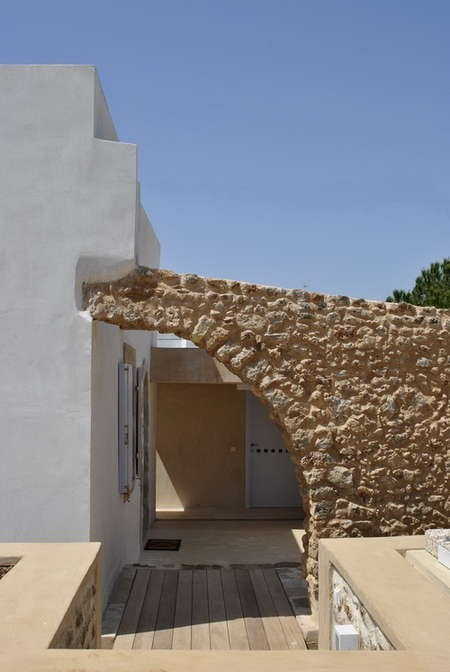 The House with the Sundial. Beautifully constructed walls, and magnificent backyard refurbishment