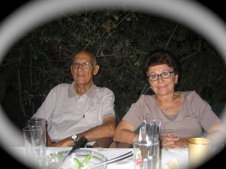 Peter Tzortzopoulos  [ Amiryali 2009] With his Wife Bassiliki