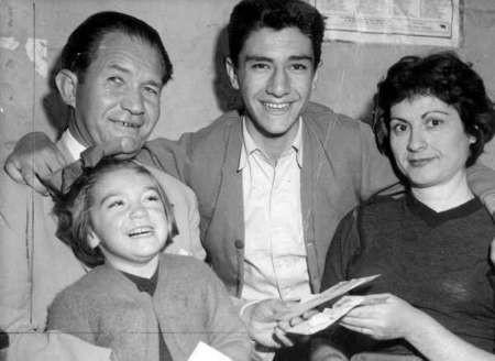 George, Aryiro, Nick and Maria Politis, 1958