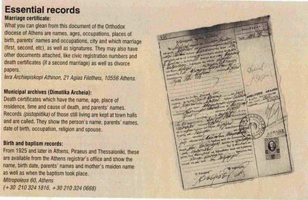 Genealogical Research aids. Odyssey Magazine. Jan-Feb 2004. - Genealogy aids Odyssey Magazine
