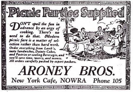 History of the Aroney Family in Nowra. - aroneys 1925