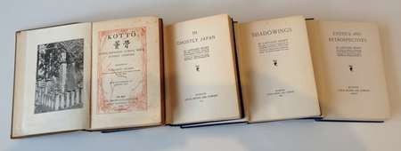 Donation of Lafcadio Hearn books to the Kytherian Association Library - March - April 2012 068