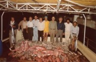 Fishing at Barrier Reef 1976