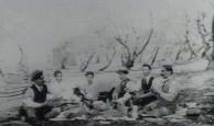 Greek picnic, Redcliffe, Queensland, Australia, ca. 1920.