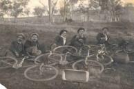 Peter D. Gavrilis in Australia with friends 1914