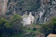 Church at Base of Hora