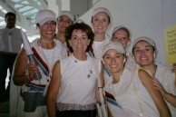 2004 Athens Olympics-Elaine Moulos. President of the Kytherian Society of Northern California