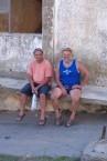 Cousins Peter Peter (Tzortzopoulos) & Harry Levantis.