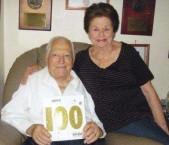 Nicholas and Nina Careedy (Karydis) - celebrating 100 years