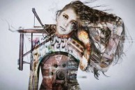 Art work by Alexia Psaltis