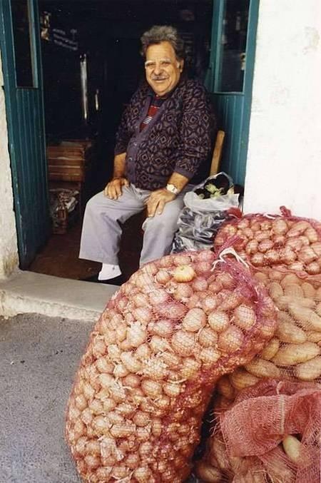Onions in Potamos