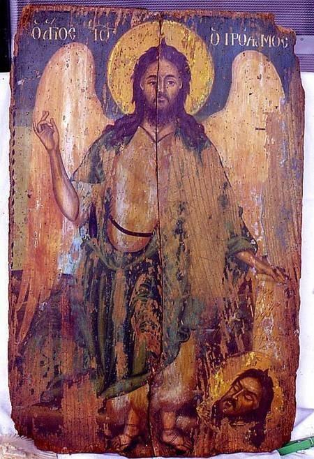 Icon 5 after restoration