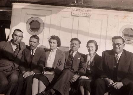 Leaving for Australia 1939