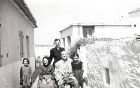 Uncle Theodore Gavrilys with relatives