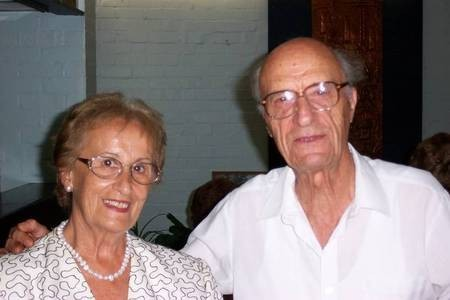 Jim Poulaki Coroneos, and his wife, Aliki Coroneos (nee, Coroneos).