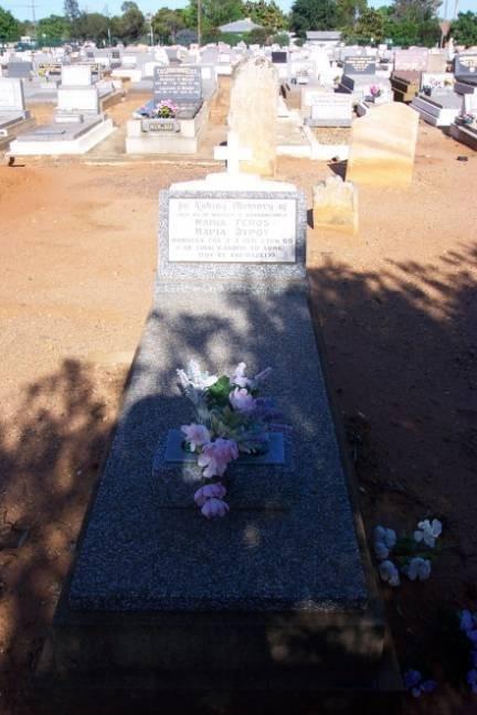 Maria Feros. Gravesite. Old Dubbo Cemetery.