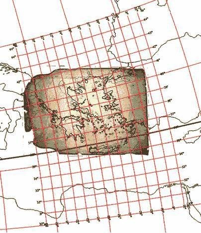 Map 11. Assigning map projections to portolan maps.