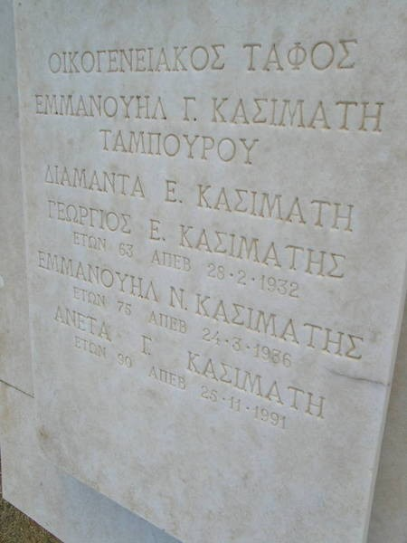 FAMILY EMMANUEL G.KASIMATI