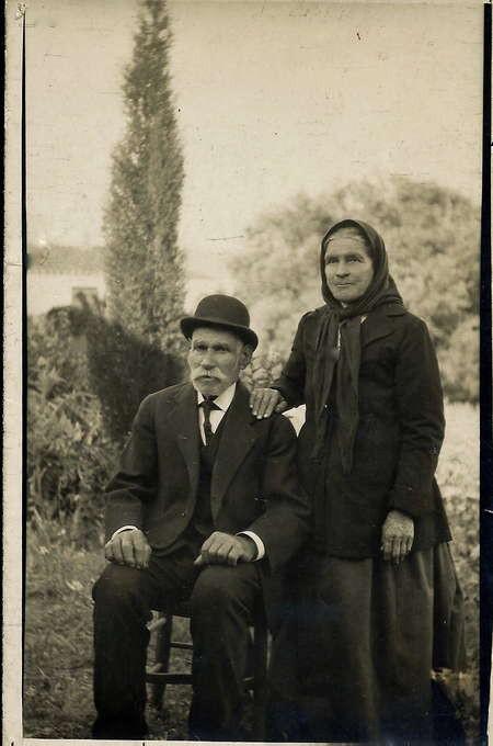 My great-grandparents, Vasileios Koulentianos and Zaharoula Tsampiras
