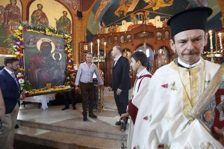 panayias church service brisbane 2013