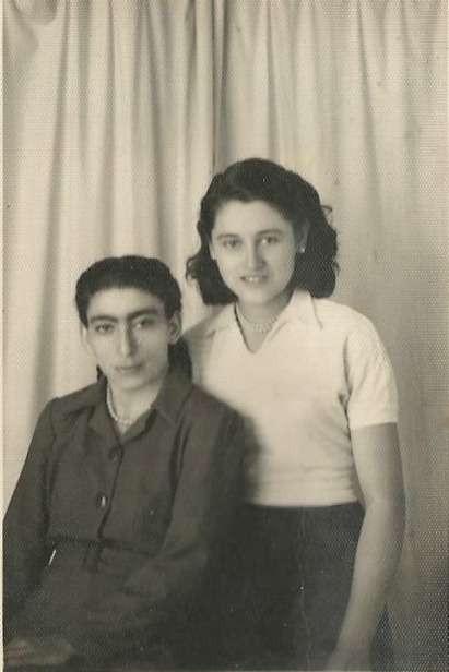 Friends of Zina Moulou (Malos) 1948-1950