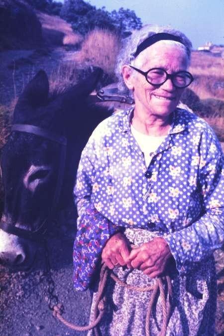 Dimitroula Venardos (Zantiotis) - August 1984