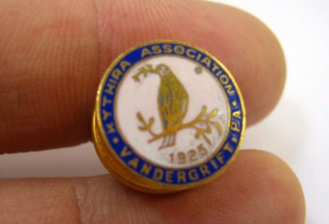 Kytherian Brotherhood of Baltimore, MD, USA Lapel Pin 2