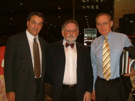 The Honourable Bob Carr, Peter Prineas & George Poulos. - Poulos, Prineas, Carr