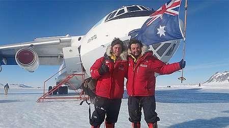 Intrepid pair discuss harsh realities of Antarctic trek - antarctic-trek COMPLETE