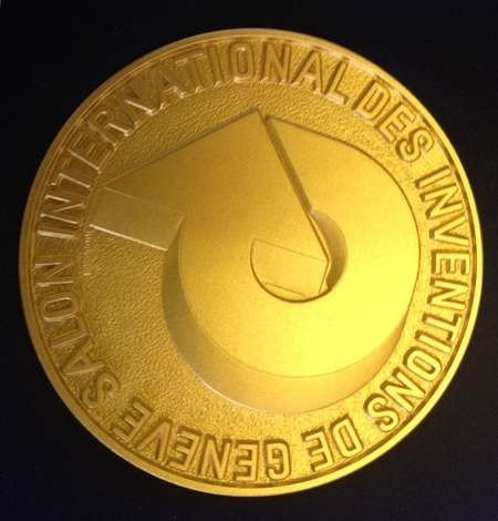 Angelo and John Notaras of Atom Industries are awarded another two gold medals at the - medal 8