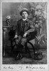 Theodore Pascalis, 1910,  aged 13