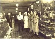 Regent Cafe Lismore ~1938