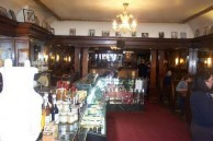 Paragon Cafe, Katoomba, NSW - view looking into store with water fountain display on the left