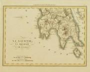 """""""La Laconie, La Messénie et L'Ile de Cythère"""" Paris c. 1820 - attributed to R. Lapie"""