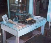 Cassimatis, Andrew Andrew - Muttaburra, Queensland - His office preserved.