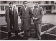 Brothers Theo and Minas Kalokairinos and Mr Tzannes 1954