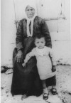 1932, Mrs Stamatina N.Samios and grandson Nikos